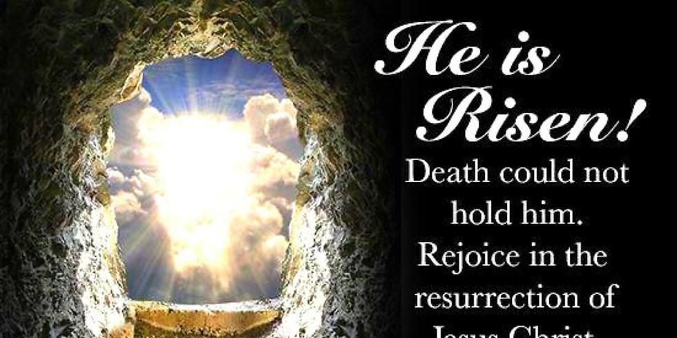 2nd service Easter Sunday