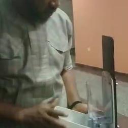 Display of industrial dispenser in Abuja