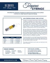 Terpene Syringe