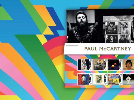 O Paul McCartney γίνεται νέα συλλογή γραμματοσήμων από τη Royal Mail