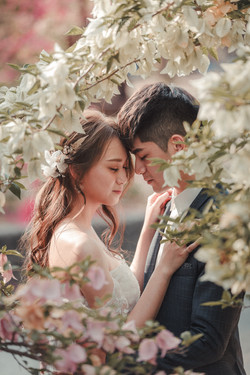 【婚紗。浪漫的愛】