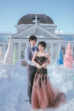 【2016北海道雪地婚紗】小玲