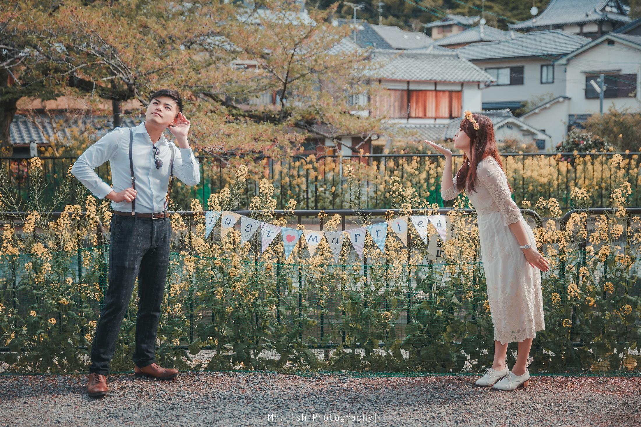 海外婚紗 【2018京都海外旅拍小清新】南哥&美麗