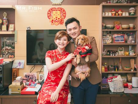 【婚禮紀錄】與寵物分享重要時刻