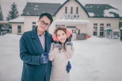 【2016北海道雪地婚紗】彤彤