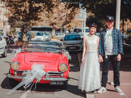 [Overseas prewedding ]2018_南法、凡爾賽宮情侶輕寫真婚紗