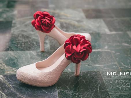 【婚禮大小事】新娘婚鞋-Freesia 手工訂製婚鞋