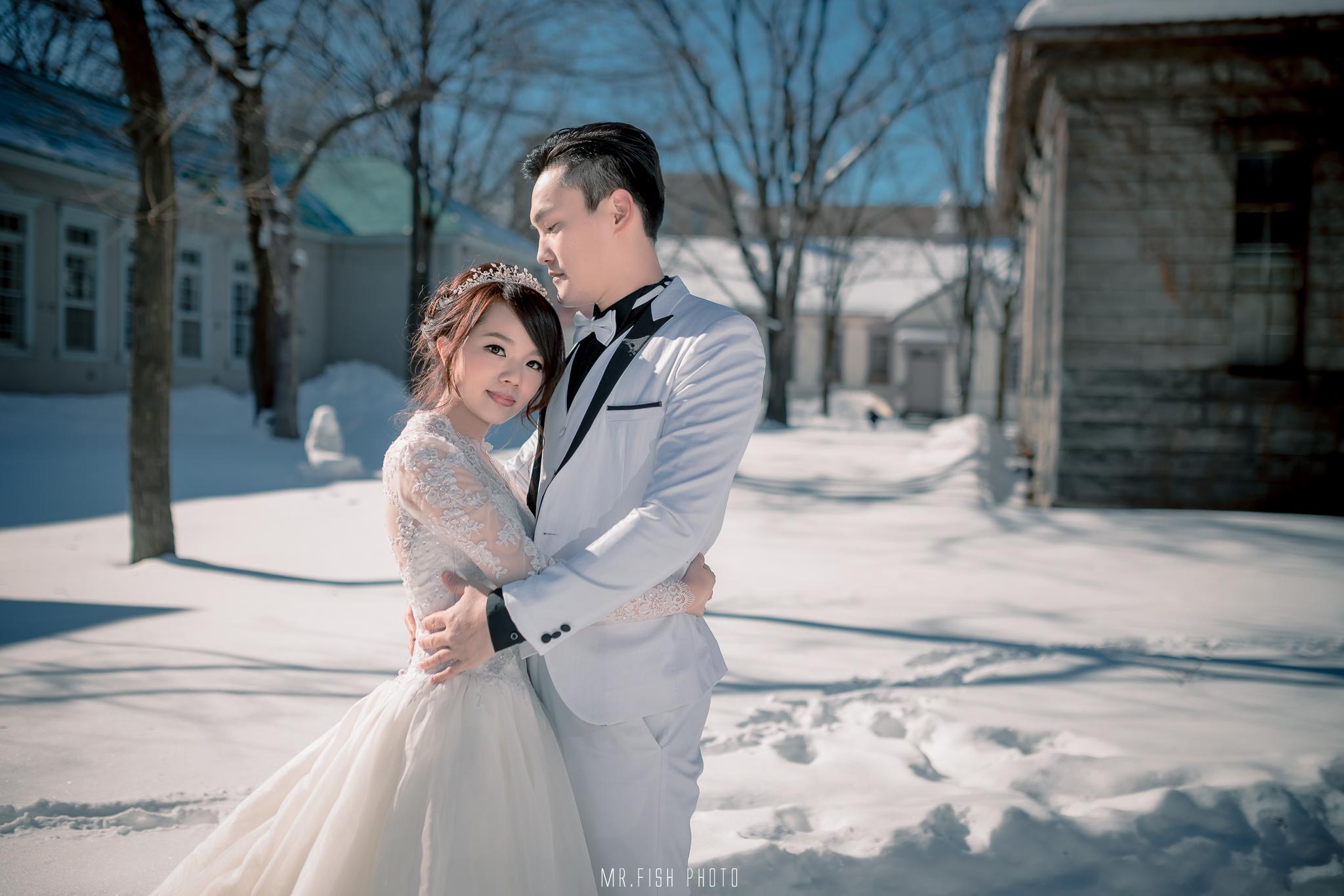 【2016北海道雪地婚紗】小瑛+小文