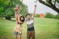 【親子寫真】幸福。翔翔
