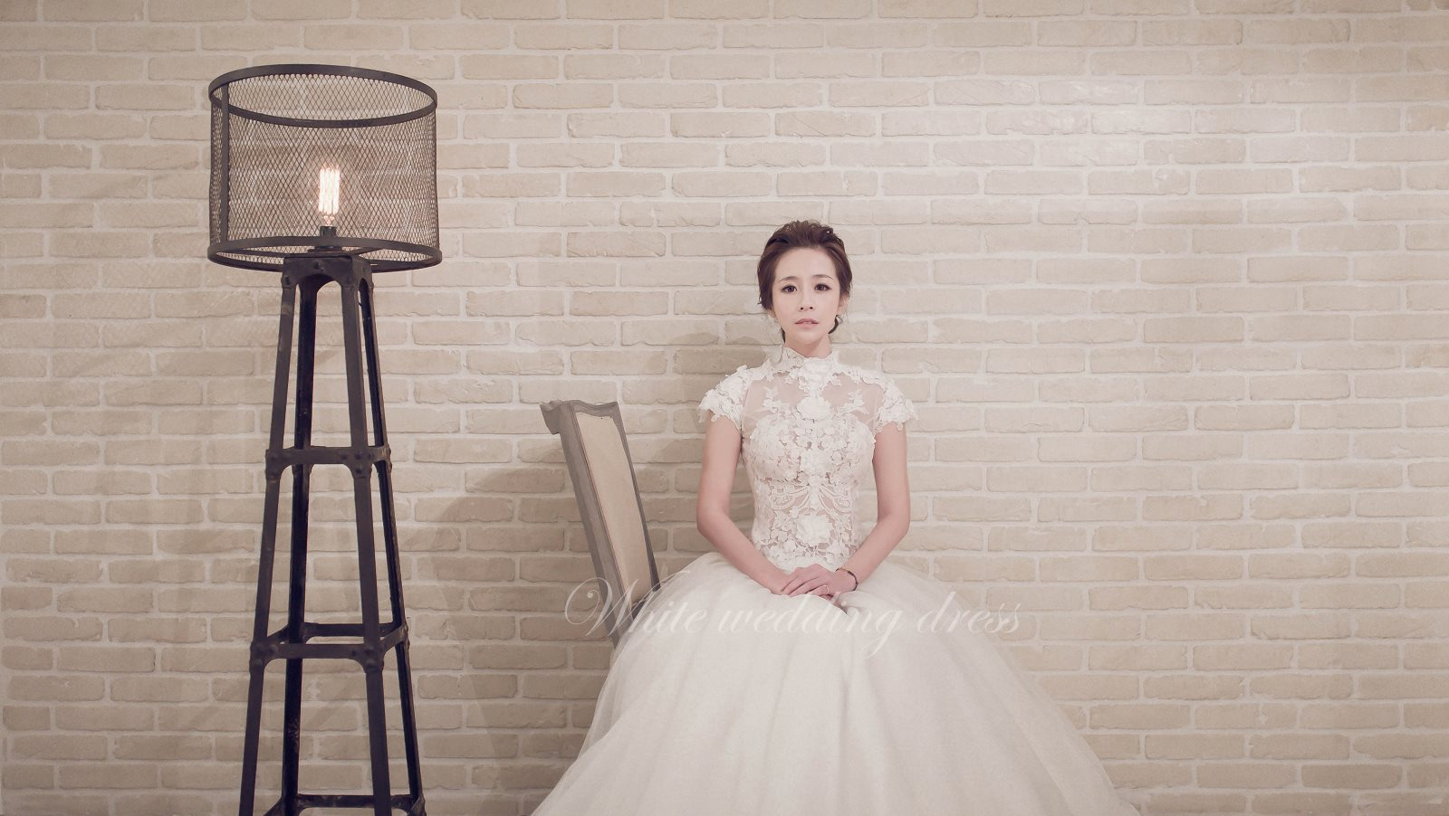 White wedding 白色婚禮 手工婚紗