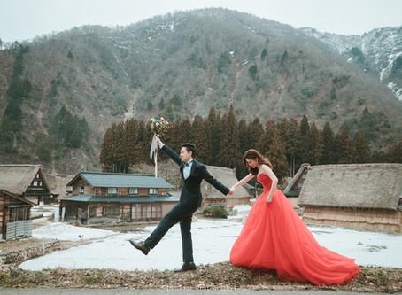[Overseas prewedding ]2018_合掌村冬季婚紗