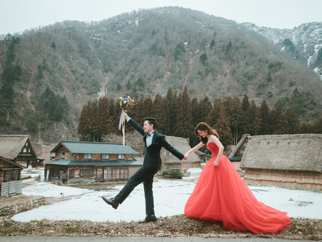 [Overseas prewedding ]2018_合掌村冬季婚紗