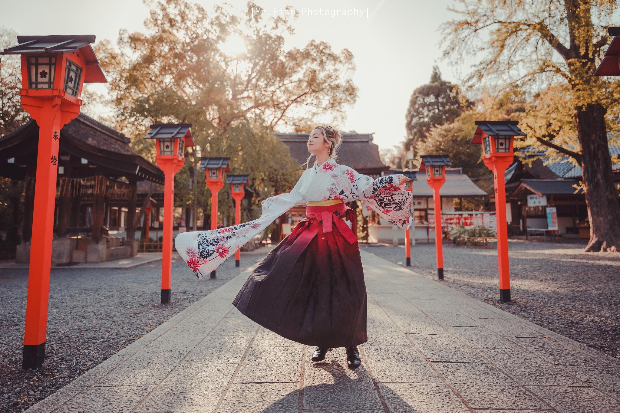【2018京都春季女神和服】Fiona