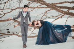 【2018北海道雪地婚紗】挺 & 鳳