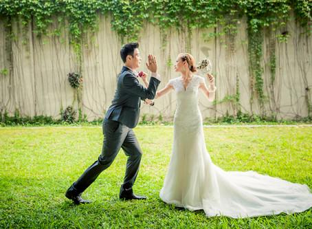 【婚禮大小事】關於自主婚紗風格這件事