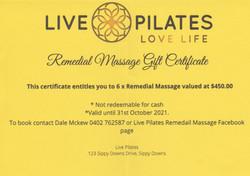 6 Massages