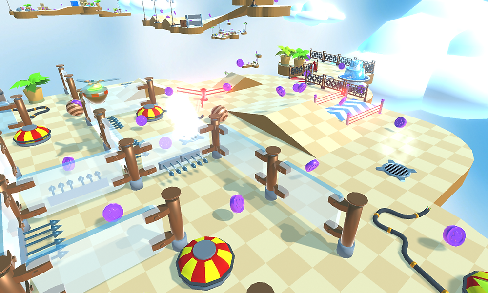 Tackle tricky mazes and deadly traps in one of Mekanika's more challenging stages!