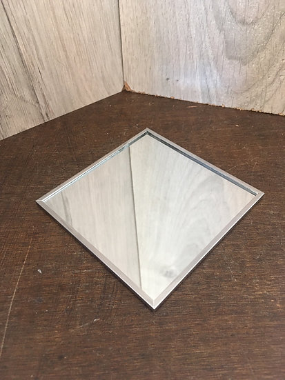 Socle miroir carré