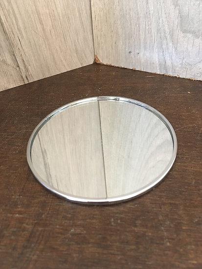Socle miroir rond