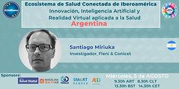 Ecosistema de salud conectada de Iberoamérica - Innovación, Inteligencia Artificial y Realidad Virtual aplicada a la Salud– Argentina
