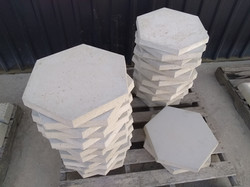 Hex Stepping Stones