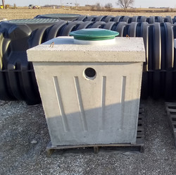 100 Gallon Pump Pit