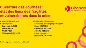 Rendez-vous à 14h pour l'ouverture des journées Solutions Solidaires !