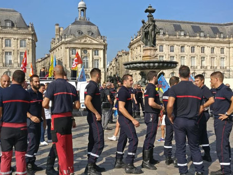 Désormais, nous pouvons doter les pompiers de Gironde de moyens humains et matériels supplémentaires