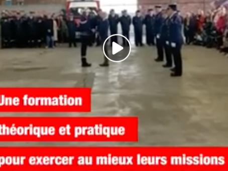 50 nouveaux caporales et caporaux au service des Girondines et des Girondins !👩🚒👨🚒