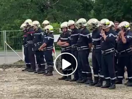 Une nouvelle caserne de pompiers au Porge !