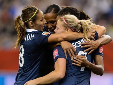 4-0 en ouverture du mondial de football, un signe encourageant pour nos Bleues !