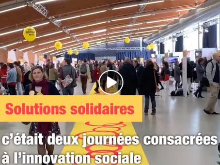 Solutions Solidaires, une bouffée d'énergie et d'optimisme dans un monde en pleine mutation !