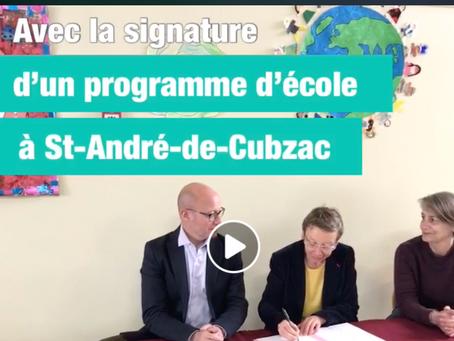 La Haute Gironde met le paquet sur l'éducation !