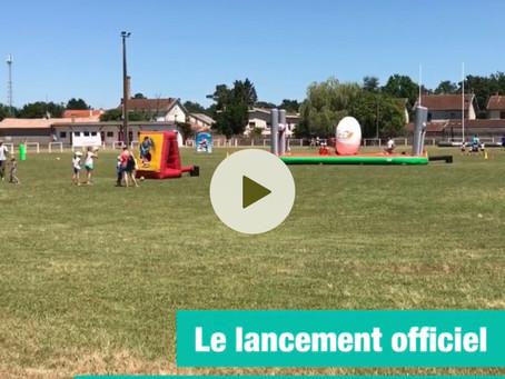 CAP33, c'est parti en Sud-Gironde 🏉🏹🏸