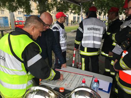 Les sapeurs-pompiers de Gironde ont encore répondu présent !