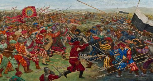 La battaglia di Scannagallo