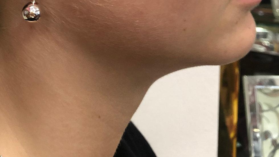 Ohrhänger Kugel 10mm