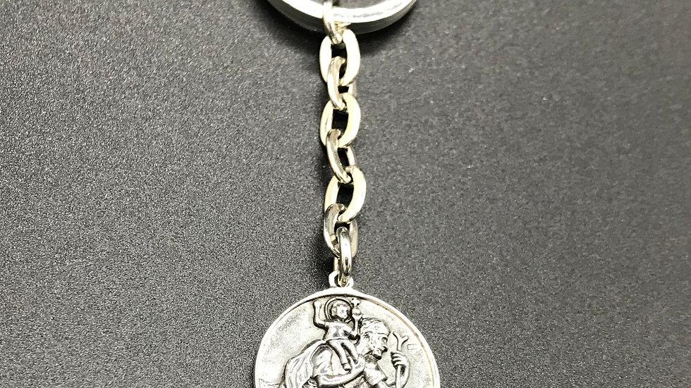 Schlüsselkette Christophorus