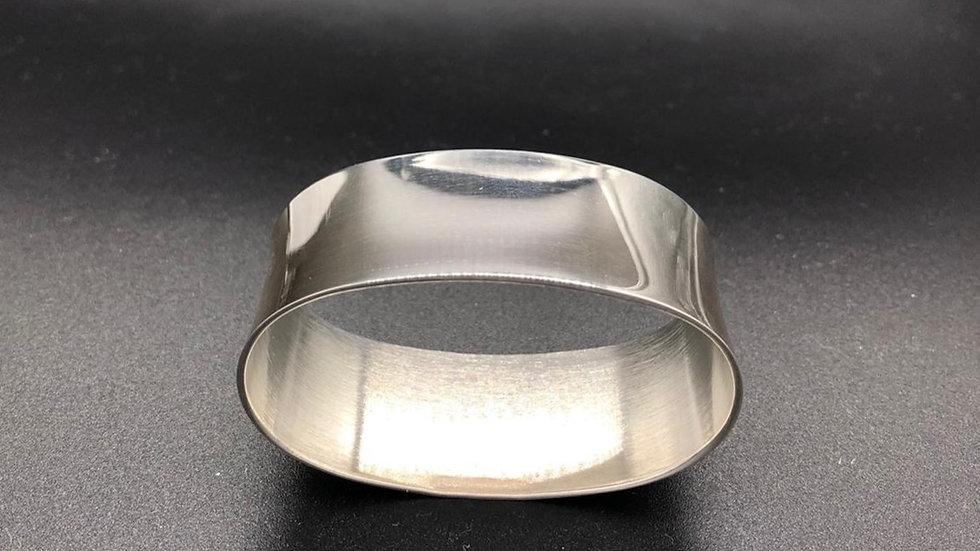 Serviettenring oval glatt