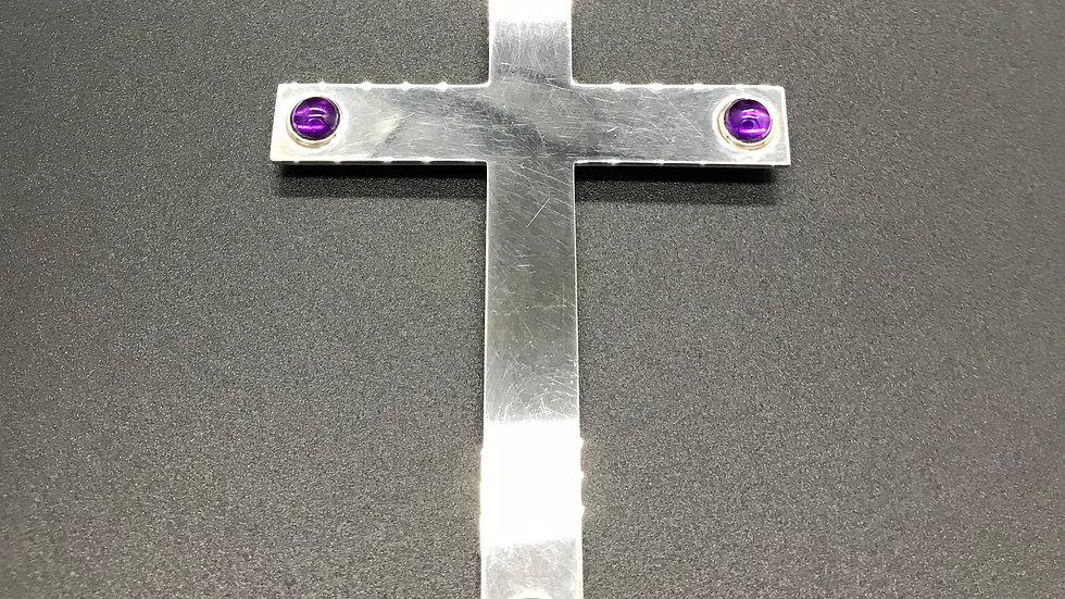 Kreuz mit Amethyst