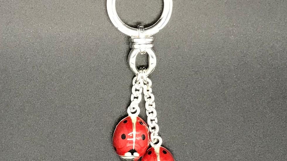 Schlüsselkette 2 Marienkäfer