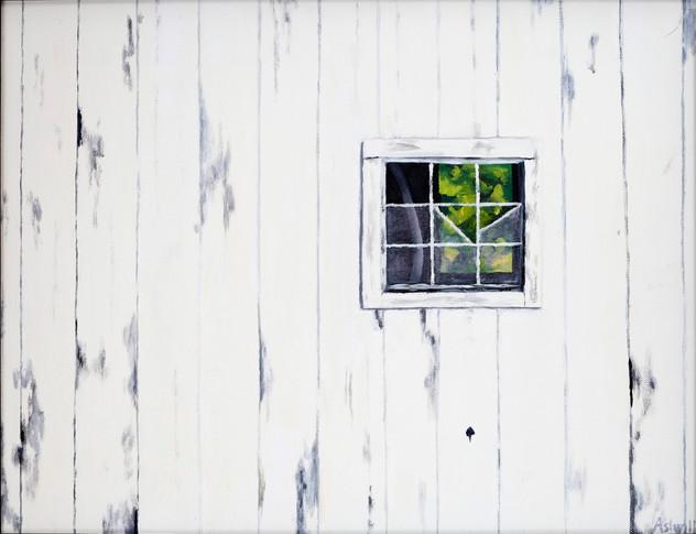 White Barn Window