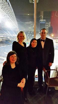 String Quartet at Seahawks Stadium