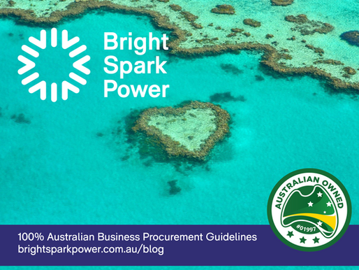 100% Australian Business Procurement Guidelines