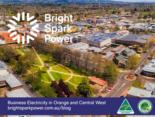 Business electricity in Orange, New South Wales