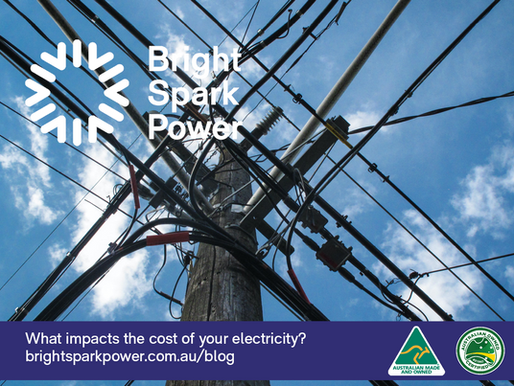 What impacts the cost of your electricity?