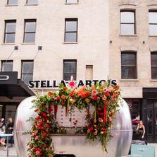 Stella Artois Floral Airstream
