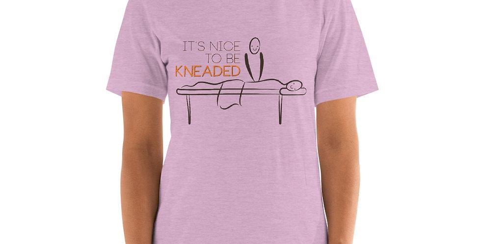 Massage Pun Short-Sleeve Unisex T-Shirt