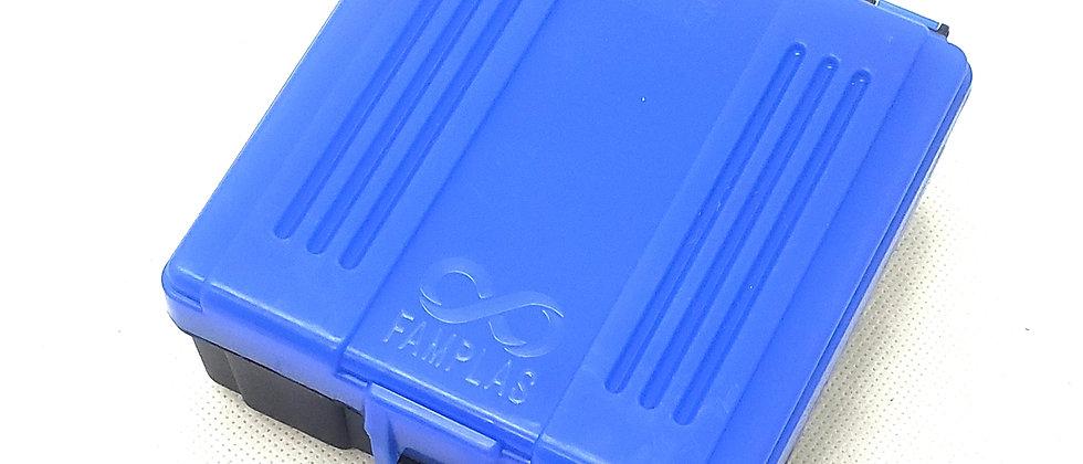 Caixa para Munições .38SPL (AZUL)