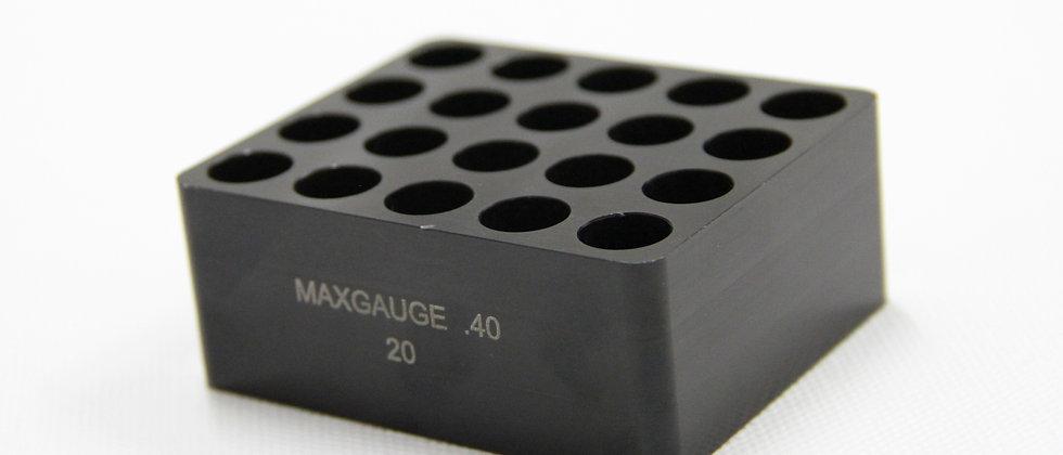 MAX Gauge .40 S&W 20 Furos